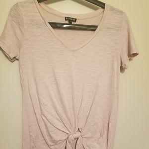 Light pink Express tshirt sz xsmall